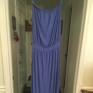 USEDTori Richard Honolulu Maxi Dress in Periwinkle